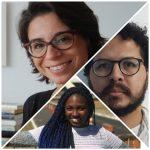 Juliana Dias, Elton Rodrigues e Scila Brito
