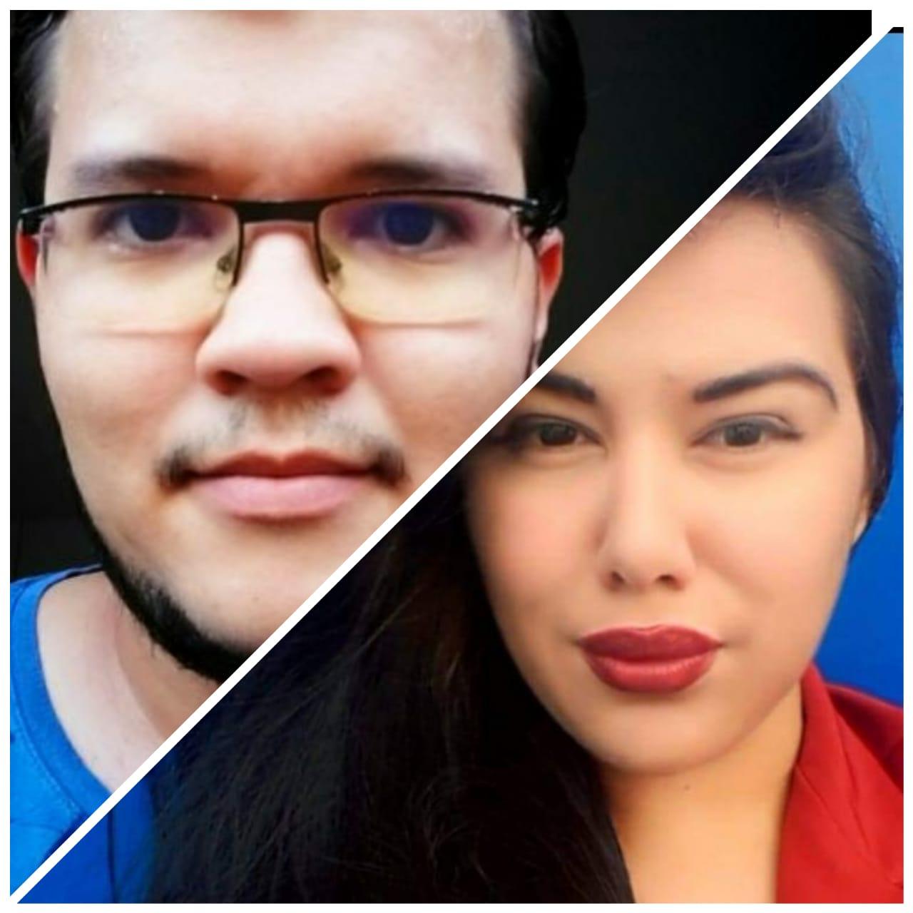 Bruno Cidadão e Mariana Domin