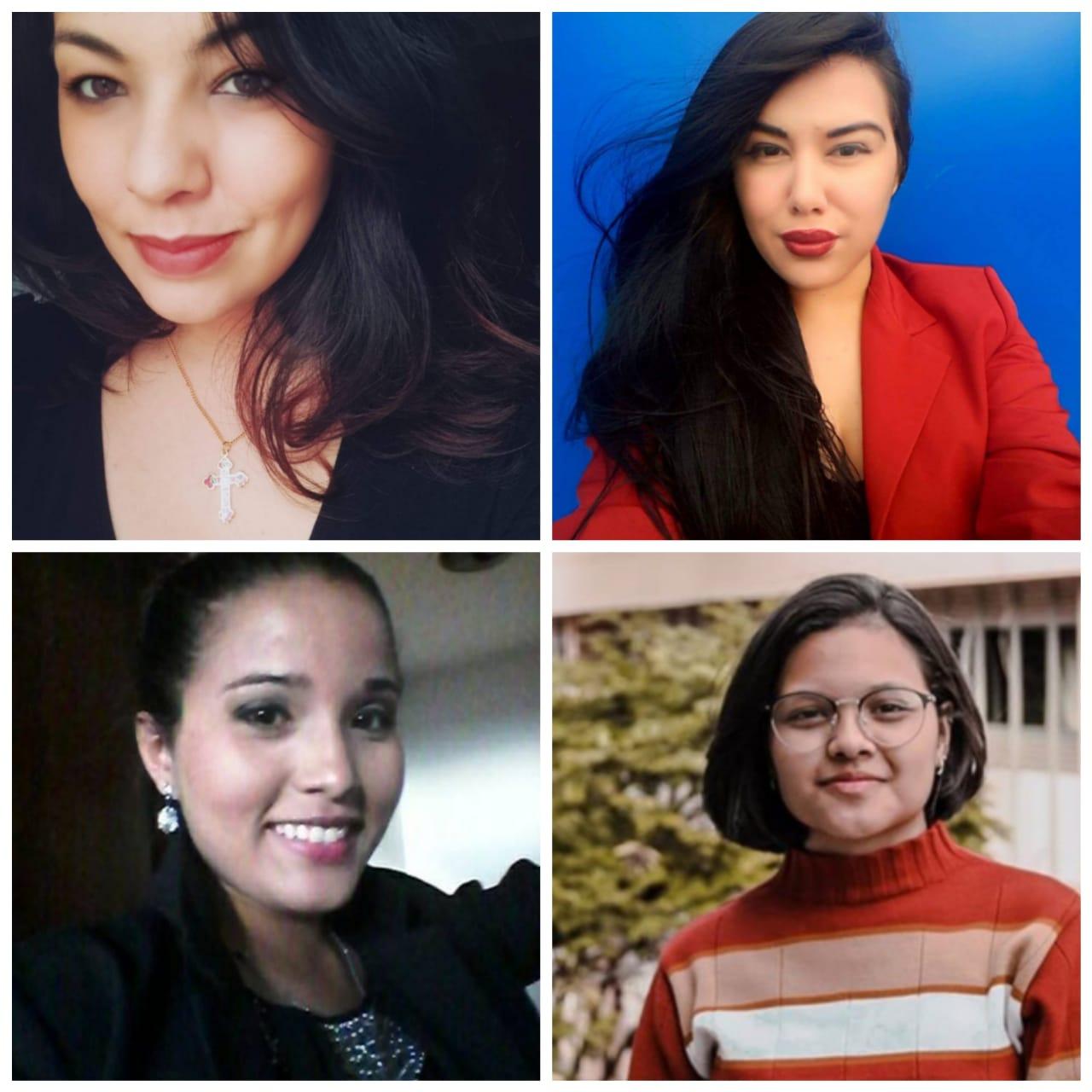 Alynne Sipaúba, Mariana Domin, Marina Farias e Raquel Rocha