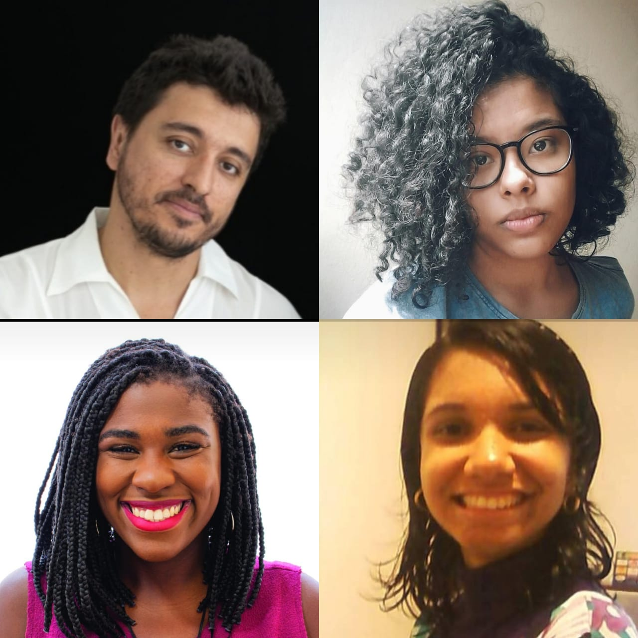 Daniel Reis, Luciana Petersen, Stephanie Costa e Naira Diniz