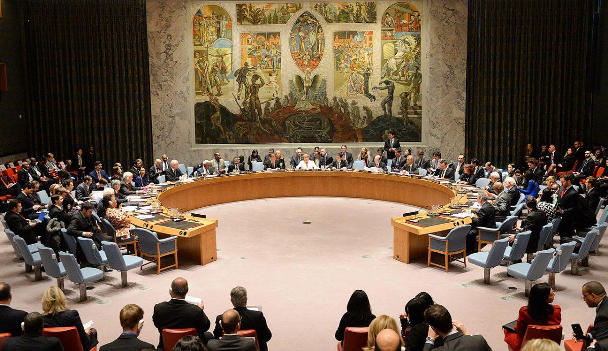 Conselho de Segurança da ONU (2015) Fonte: Governo do Chile/Wikimedia