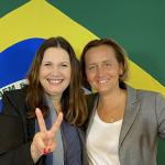 Deputada Bia Kicis classifica parlamentar da Alemanha em visita ao Brasil como conservadora